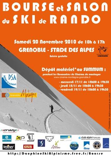 Salon et bourse du ski de randonnée à Grenoble