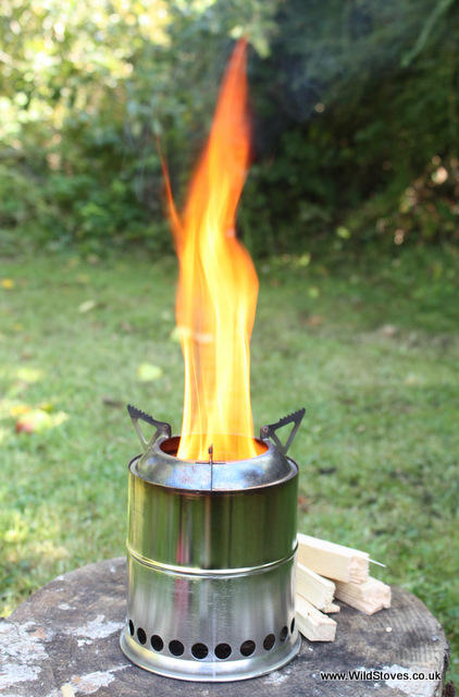 Wildstove wood gas