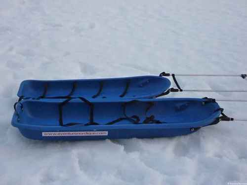 Pulka Snowsled Ice Blue