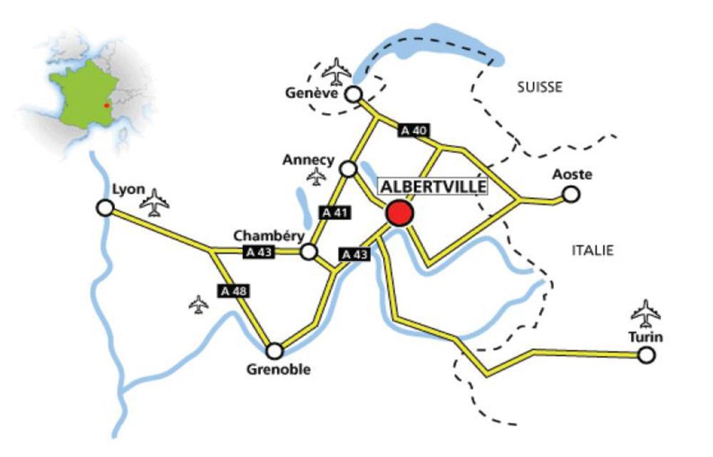 Accès au Grand Bivouac à Albertvillle