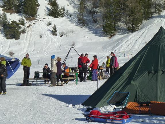 Ski, bivouac et pulka !