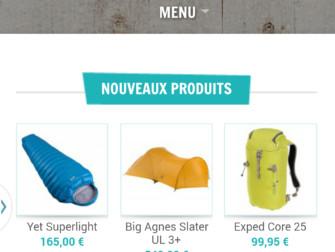 Aventure Nordique, version mobile