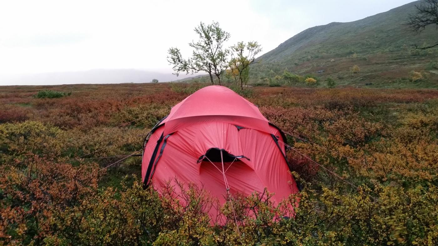 Tente Saivo Hilleberg - Jämtland - Suède