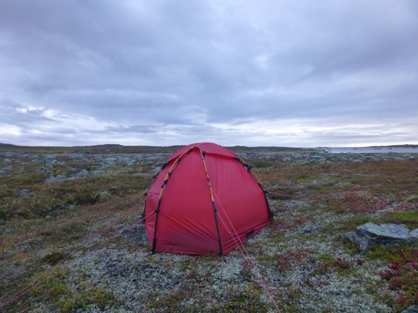 Tente Soulo Hilleberg - Jämtland - Suède