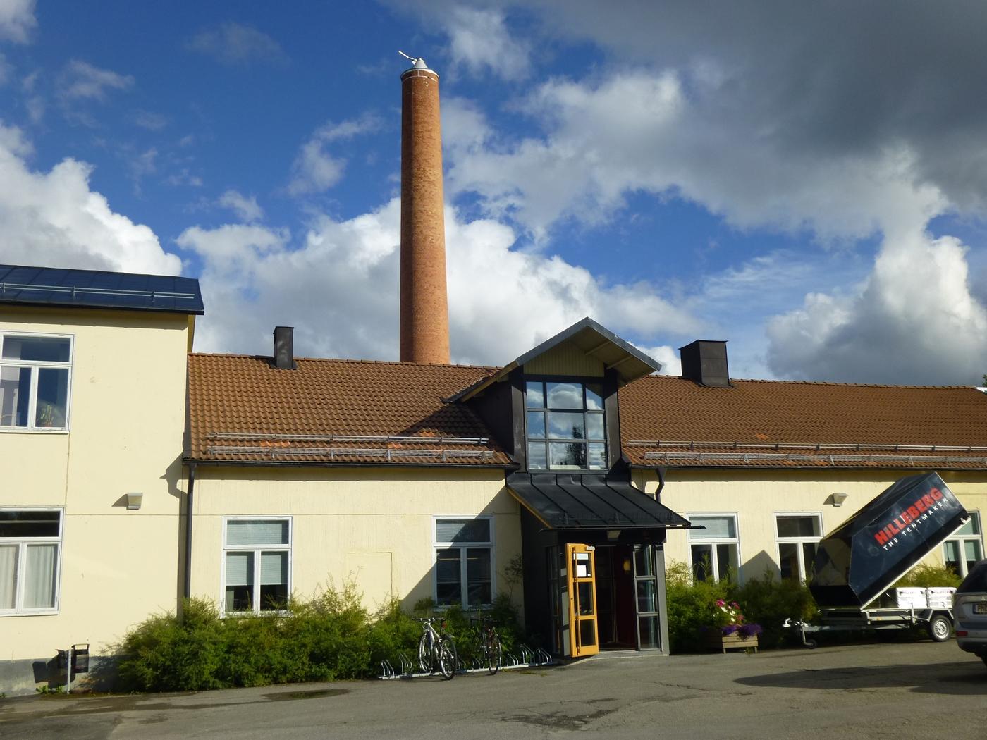 Siège social d'Hilleberg à Frösön en Suède