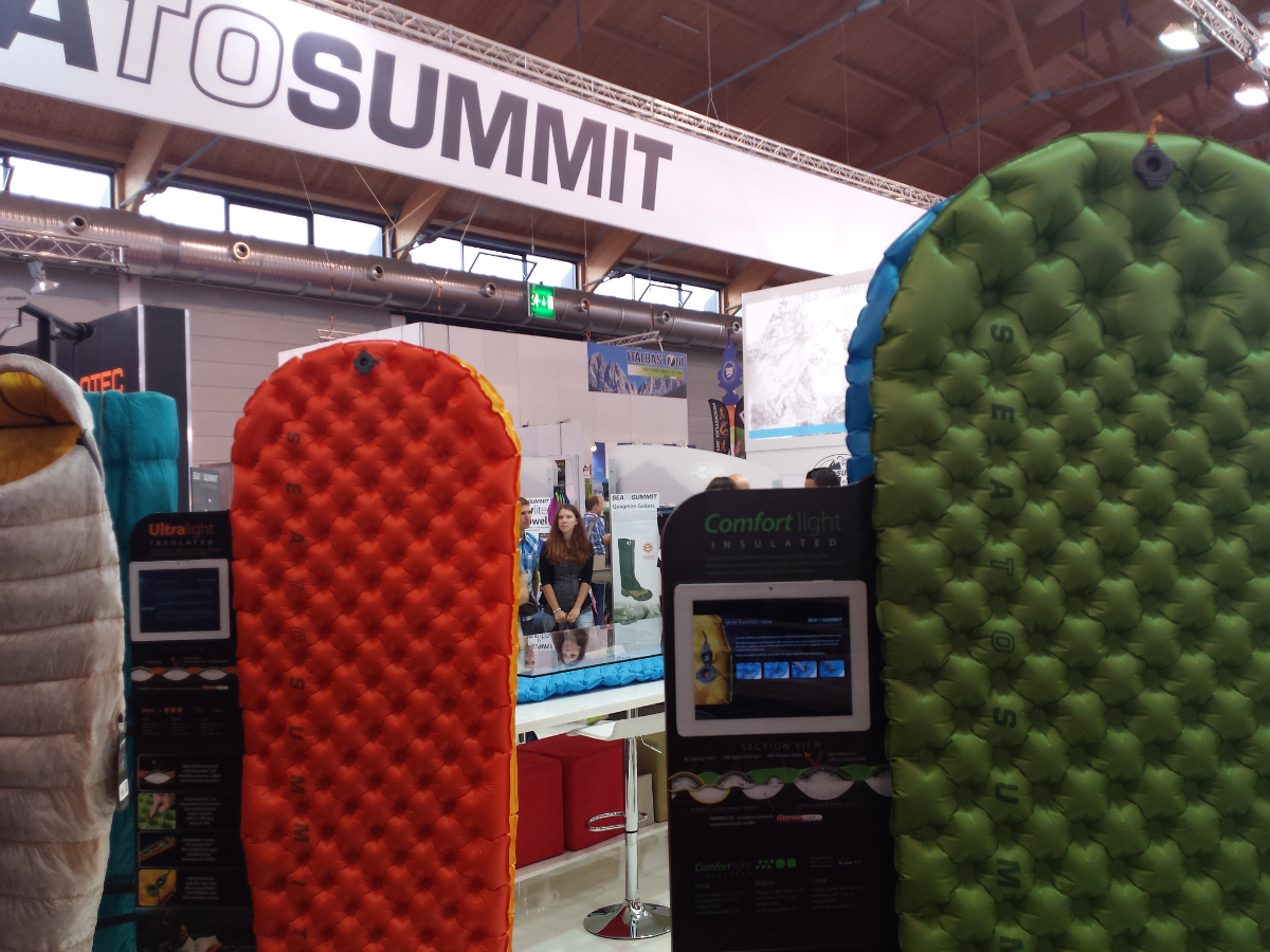 Matelas pneumatiques gonflables Sea to Summit
