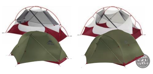 Nouvelle couleur pour les tentes de la série Hubba de Msr.