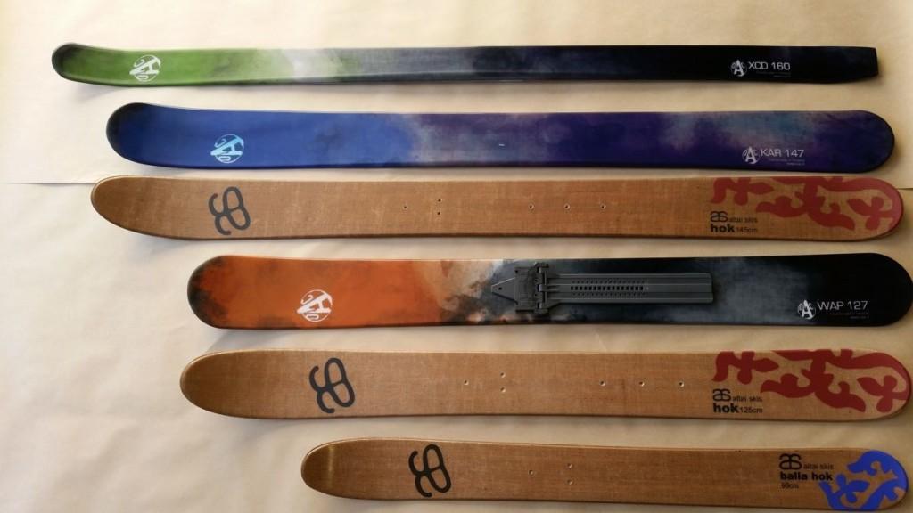 Comparatif Skis Altai et Skis OAC