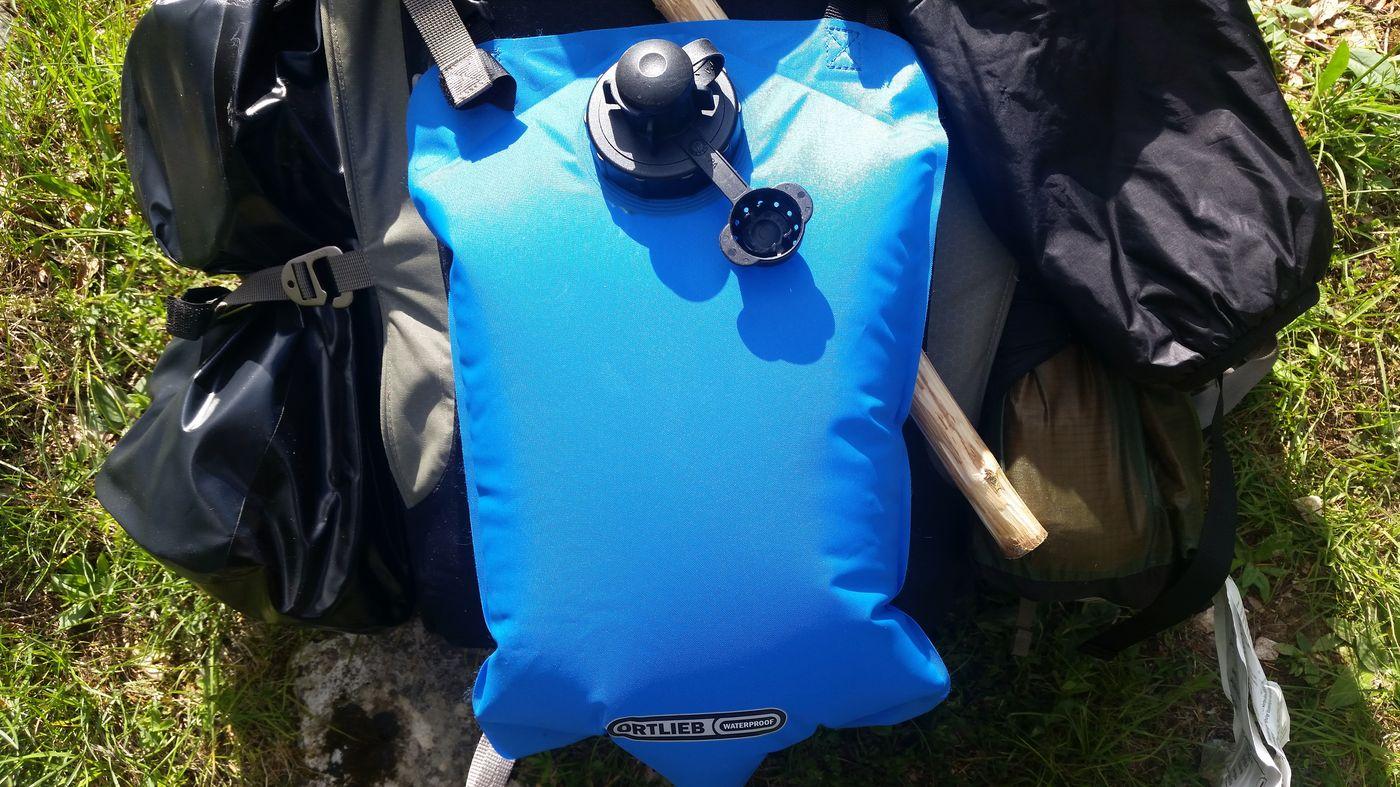 Poche à eau Ortlieb PD350, 22 litres