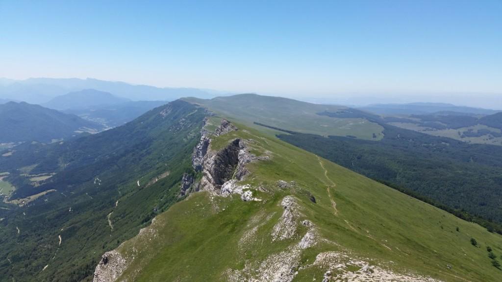 Entre Fond d'Urle et le plateau d'Ambel