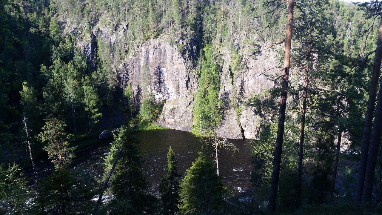 Le Pieni Karhunkierros offre de belles vues sur la rivière