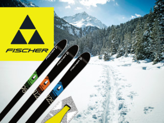 Skis Fischer S-Bound Crown / Skin