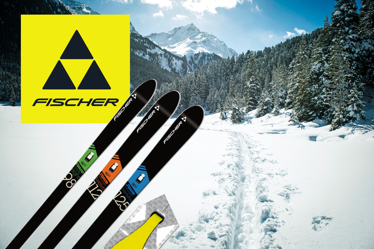 Skis de randonnée nordique Fischer - Série S-Bound Crown / Skin