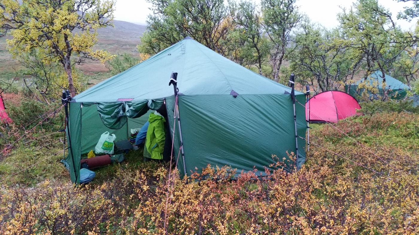 Tente de groupe Altai - Jämtland - Suède