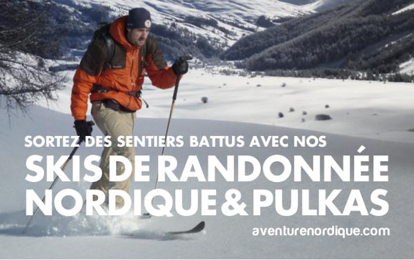 Aventure Nordique, spécialiste du Ski de Randonnée Nordique
