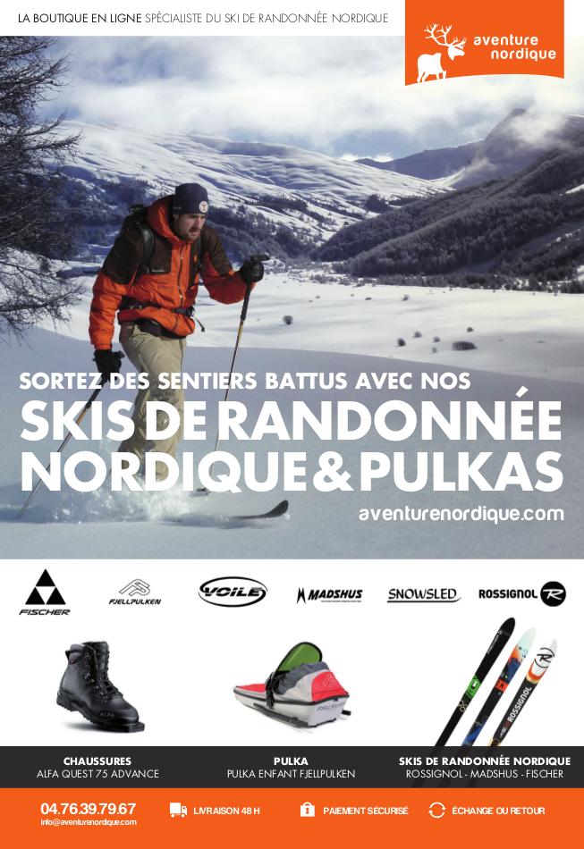 Magasin du Skis de Randonnée Nordique et pulkas