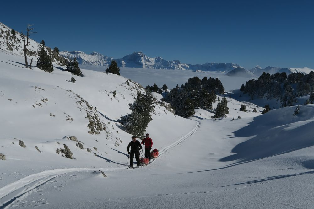 Montée en direction du Col du Creuson