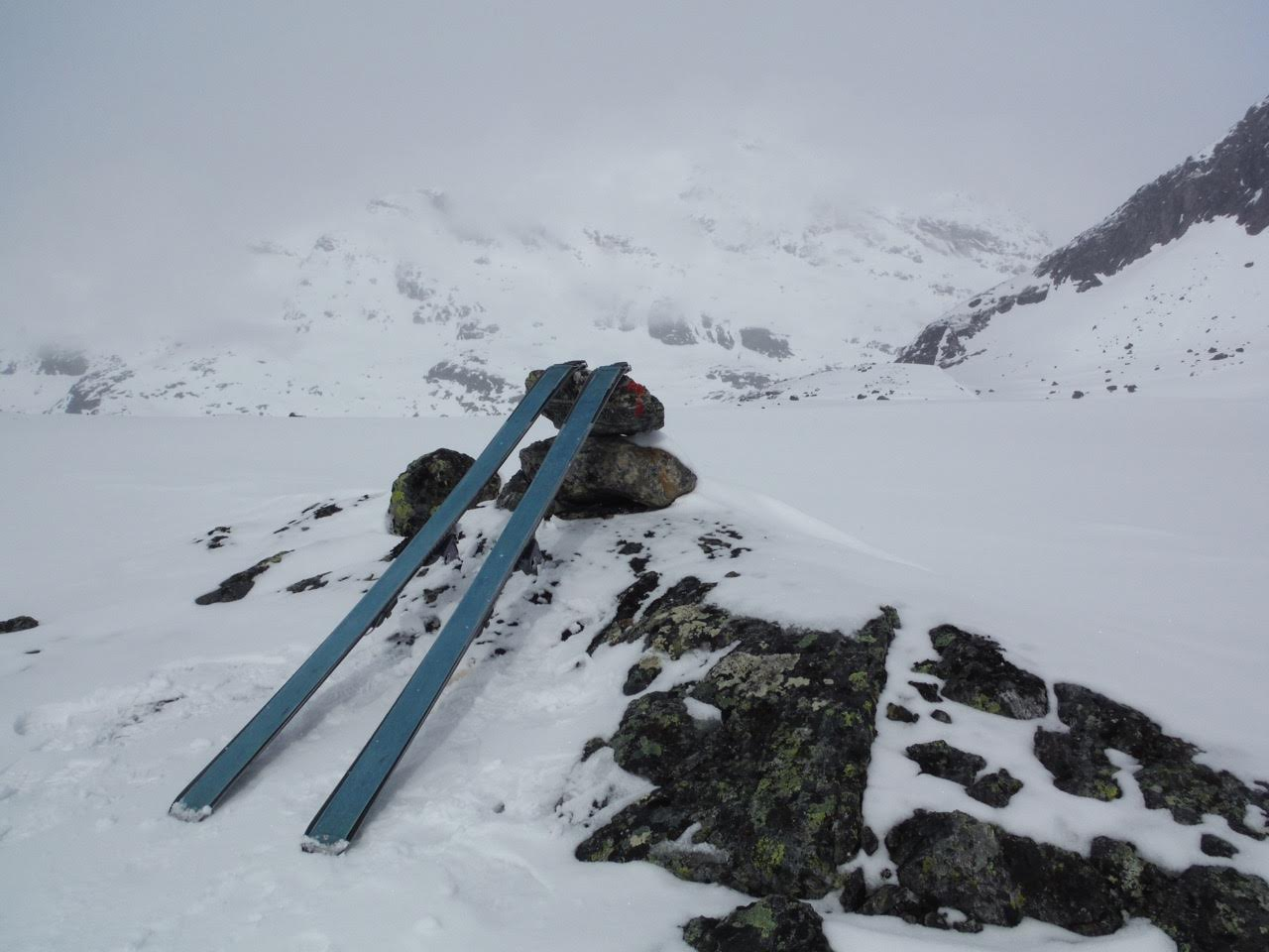 Col anonyme au dessus de la Storutladalen