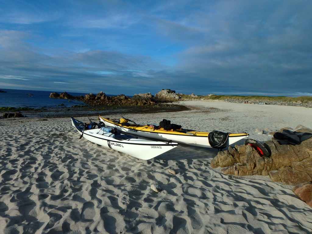 Guernesey : plage de fort Pembroke
