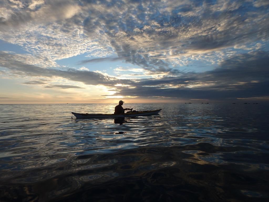 Kayak autour des îles anglo-normandes