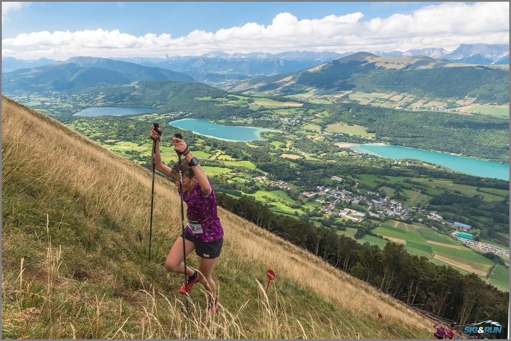La Verticale du Grand Serre - Crédit photo Skiandrun.fr