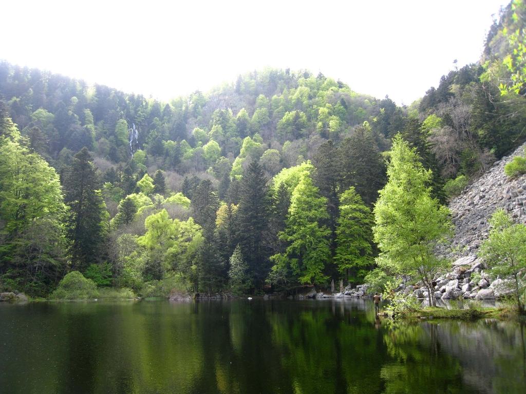 Les lacs sont très sauvages et surtout très beaux !