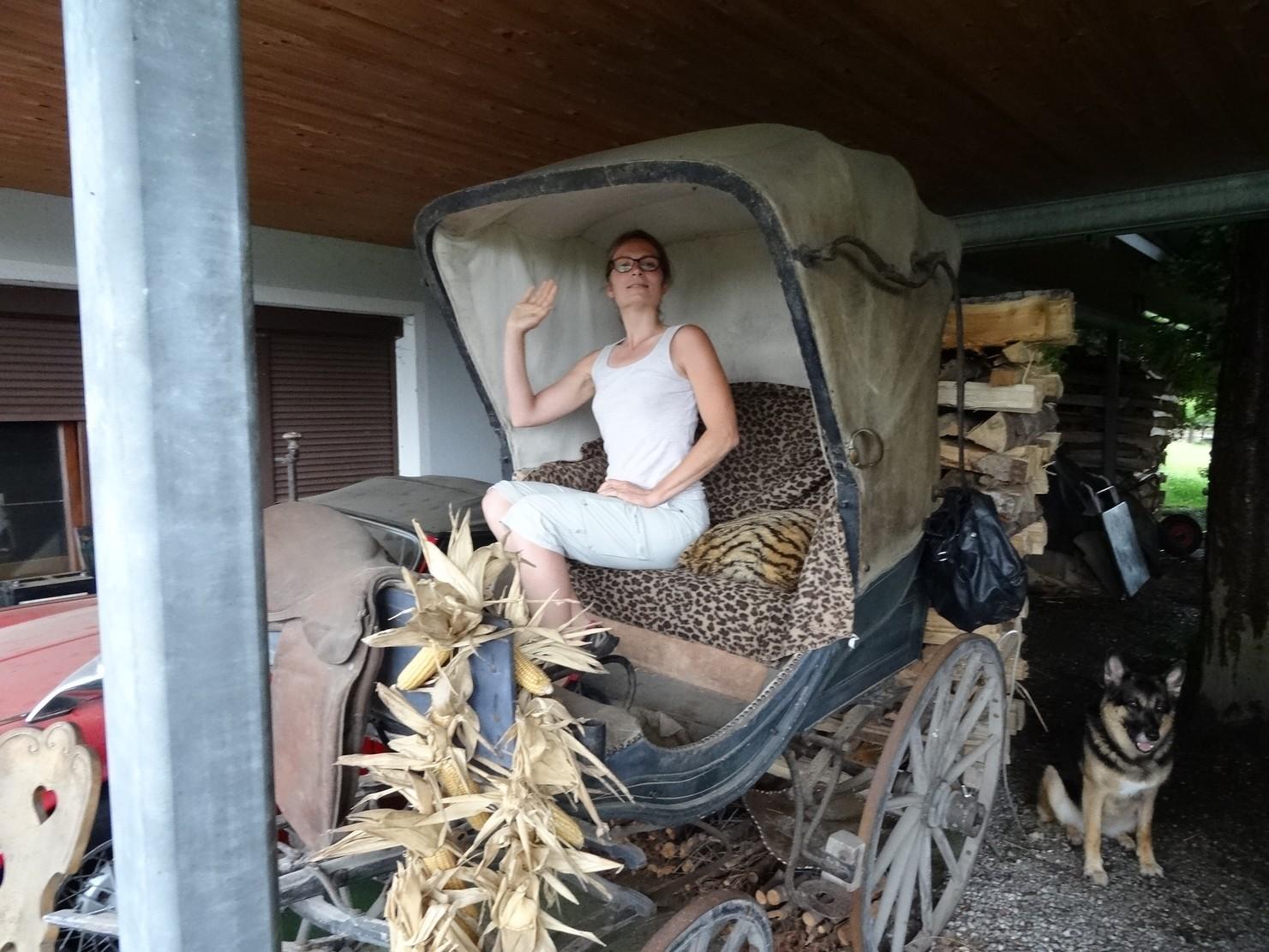 Mon carrosse chez Jordy