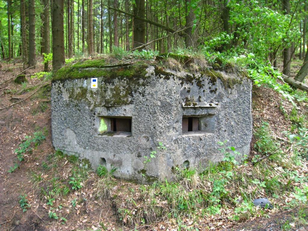 Un des vestiges de la ligne Maginot