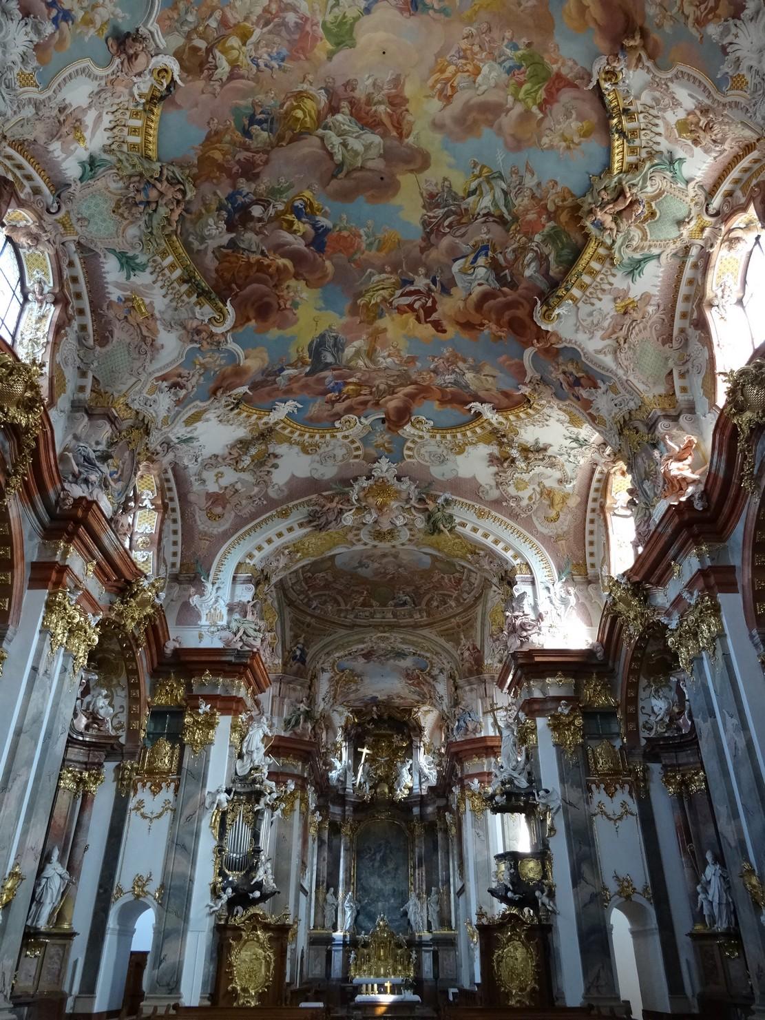 Église abbatiale de Wilhering (Autriche)