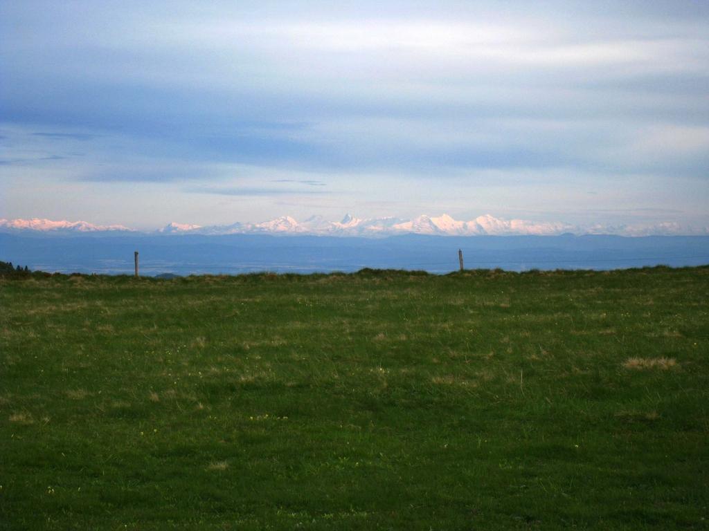 La récompense ultime : la vue sur les Alpes Suisses !