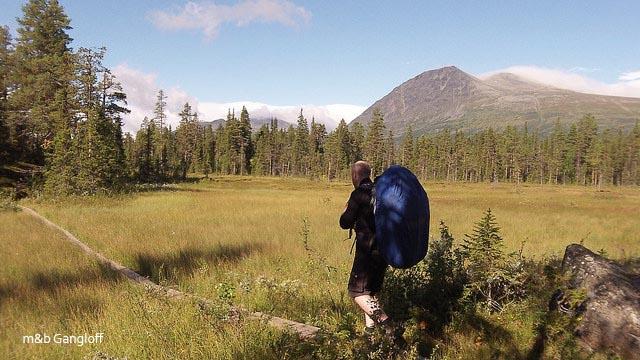Trek sur la Padjelantaleden - Laponie Suédoise
