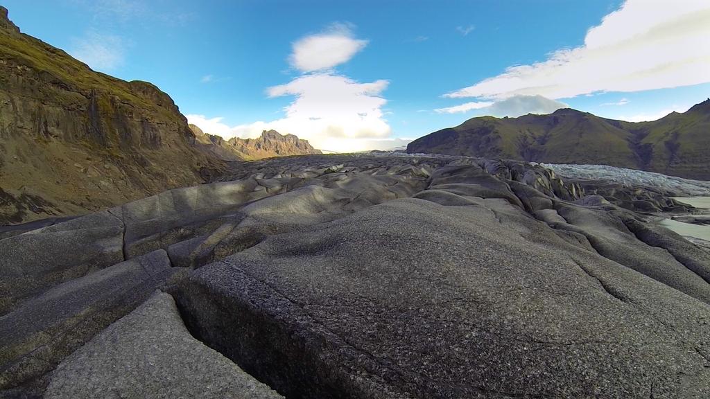 Glacier du parc Skaftafell