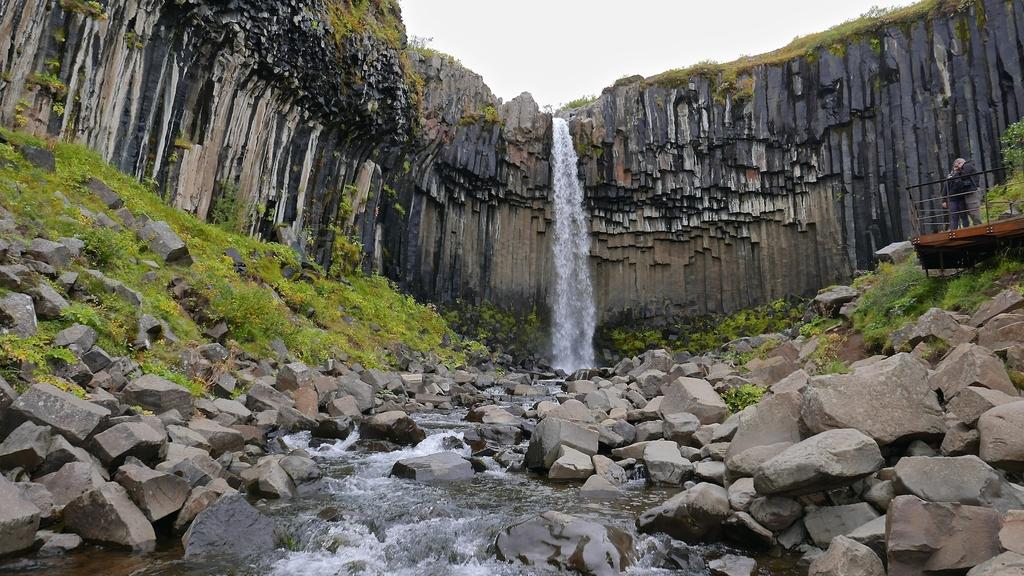 Chute d'eau Svartifoss