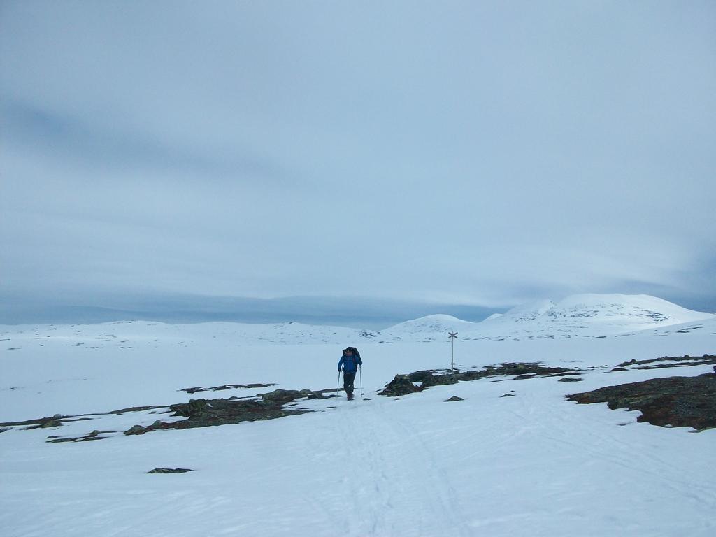 Traversée interminable vers le massif du Sylen