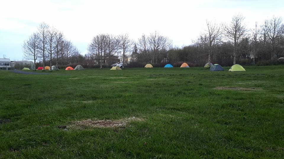 Le camping de Reykjavík