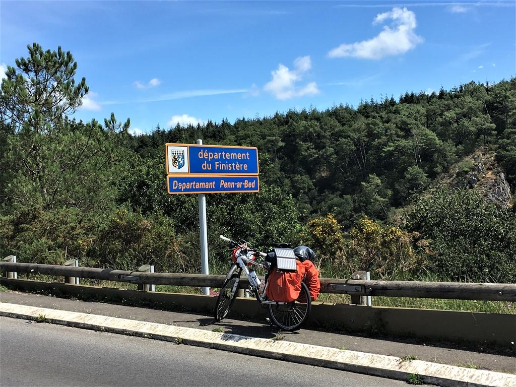 Passage dans le Finistère