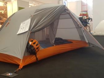 Une tente avec accessoirisation pour Bikepackers