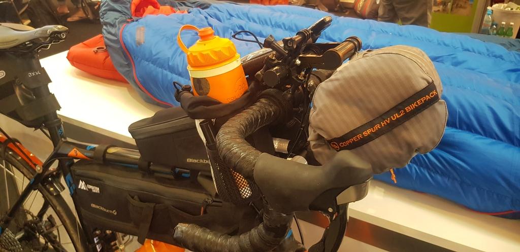La Copper Spur HV UL 2 Bikepack prête à rouler....
