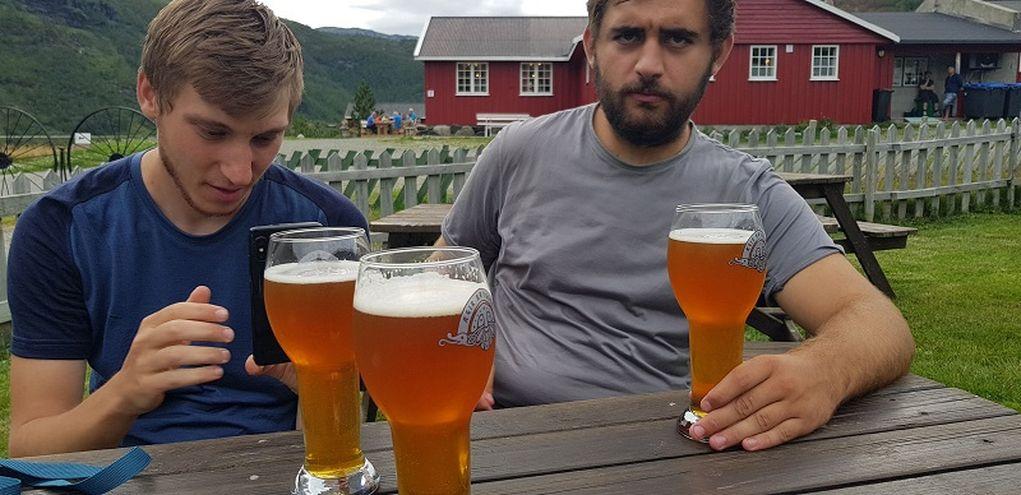Les fameuses bières Norvégiennes à 10 euros !