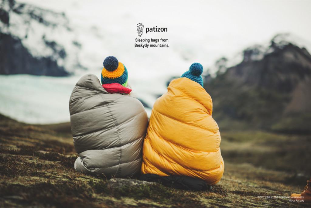 Sacs de couchage Patizon, fabriqués en République Tchèque