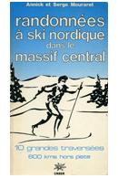 Randonnée à ski dans le Massif Central