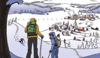 Week end du ski de randonnée nordique 2015