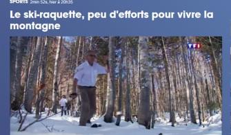 Le Ski Raquette sur Tf1