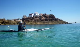 Les Ecréhou : l'île de la Marmotière